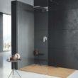 Drewno w łazience… i pod prysznicem